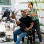 L'Incoronazione di Mike Tyson, 24 giugno 2015, Marco Papa incorona Mike Tyson per il progetto Fighting On The Verge, Las Vegas, NV